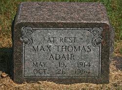 Max Thomas Adair