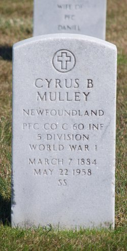 Cyrus Benjmain Mulley
