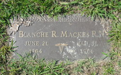 Blanche <i>Riley</i> Mackes