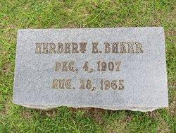 Herbert Eugene Baker