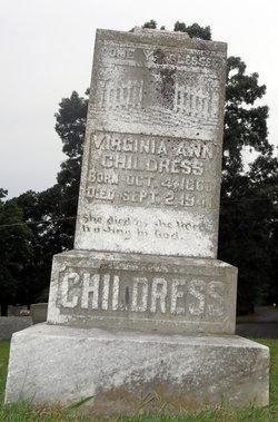 Virginia Ann <i>Cain</i> Childress