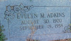 Evelyn Maxine <i>White</i> Adkins