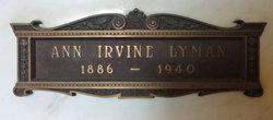 Anne Blaine <i>Irvine</i> Lyman