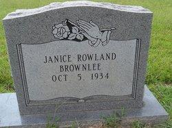 Janice <i>Rowland Brownlee</i> May