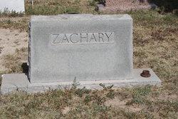 Nannie E <i>Dutton</i> Zachary