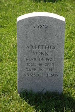Arlethia York