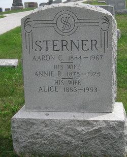 Annie R. <i>Miller</i> Sterner