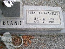 Ruby Lee <i>Brantley</i> Bland