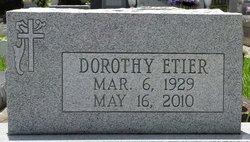 Dorothy <i>Soileau</i> Etier