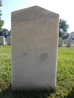 Pvt Richard B Allen