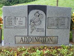 Lester J Addington