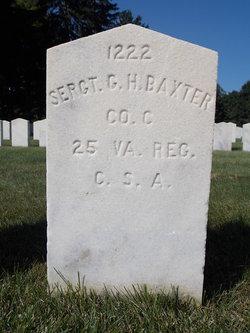 Sgt George H Baxter