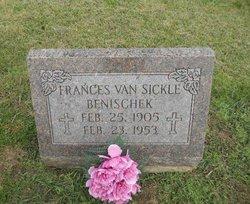 Frances <i>Benischek</i> Van Sickle