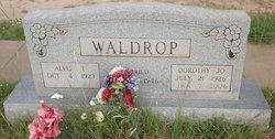 Alvis Finnel Waldrop