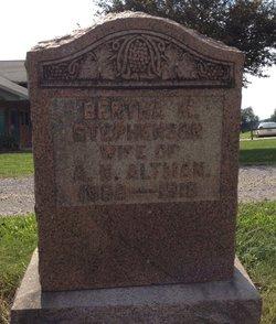 Bertha M <i>Stephenson</i> Altman