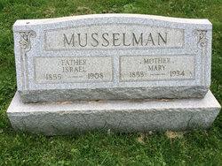 Mary <i>Strayer</i> Musselman