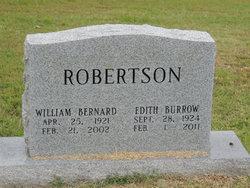 Edith Faye <i>Burrow</i> Robertson