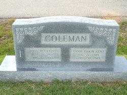 Annie Dakin <i>Kent</i> Coleman