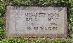 Bernardette <i>Labranche</i> Meron