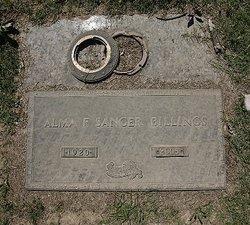 Alma F. Sanger Billings