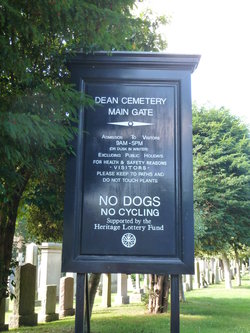 Edinburgh Dean Western Cemetery