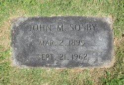John Milton Sosby