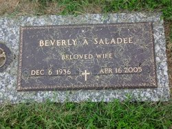 Beverly Ann <i>Fagan</i> Saladee