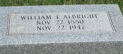 William I Albright