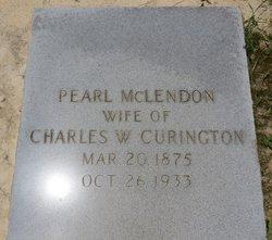Pearl <i>McLendon</i> Curington