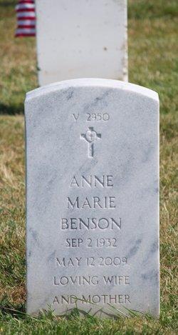 Anne Marie <i>Moss</i> Benson