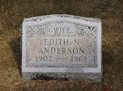 Edith <i>Nyberg</i> Anderson