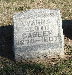 Evanna <i>Lloyd</i> Cabeen