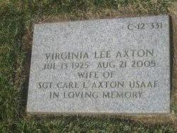 Virginia Lee <i>Young</i> Axton