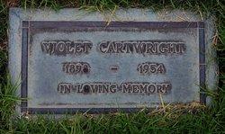Violet <i>Oller</i> Cartwright