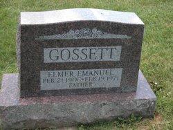 Elmer Emanuel Gossett