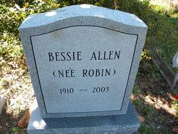 Bessie Robin Allen