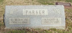 Ruth Blanche Blanche <i>Cozad</i> Parker