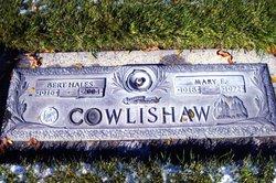 Mary E <i>Lowe</i> Cowlishaw