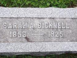 Sarah Alice <i>Reynolds</i> Bicknell