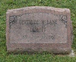 Gertrude <i>McLane</i> Demott