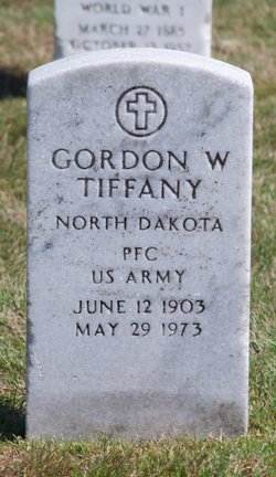 Gordon W Tiffany