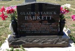 Gladys Elvern <i>Thomas</i> Barkett