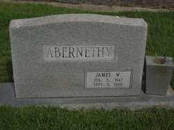 James William Jim Abernethy