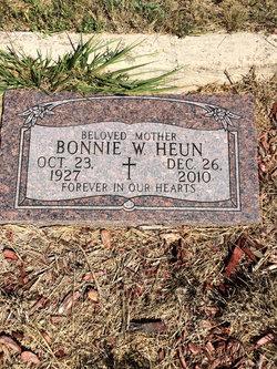 Bonnie Waunetah <i>James</i> Heun