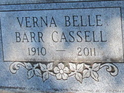 Verna Belle <i>Garey</i> Cassell