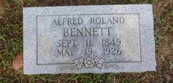 Alfred Rolan Bennett