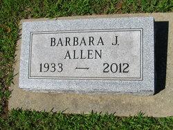 Barbara Jean <i>Enlow</i> Allen