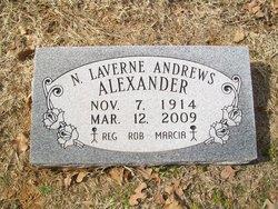 N. Laverne <i>Andrews</i> Alexander