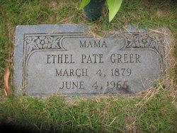 Sophia Ethel <i>Pate</i> Greer