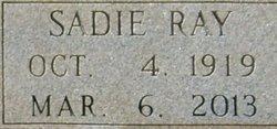 Sadie Marie <i>Ray</i> Littlejohn